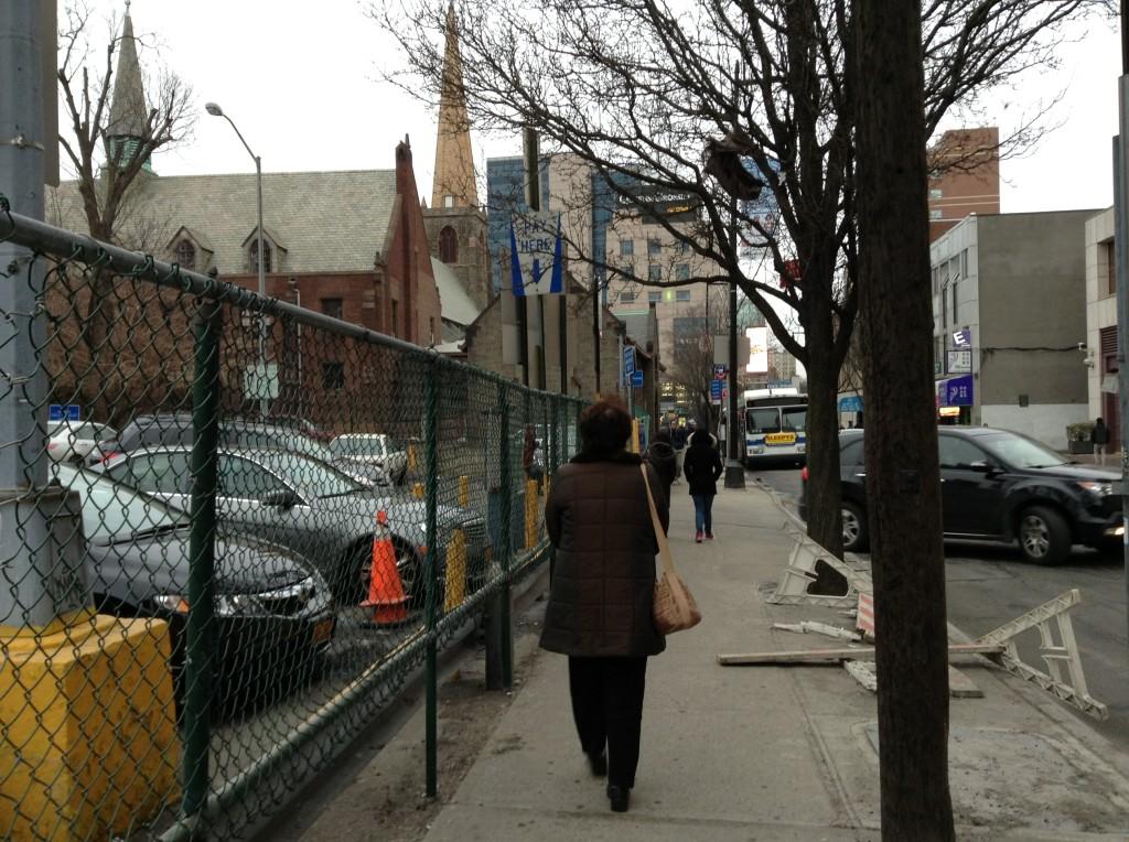 ニューヨーク前写真