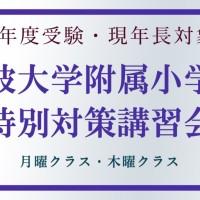 小学校筑波大学附属小学校特別対策講習会バナー